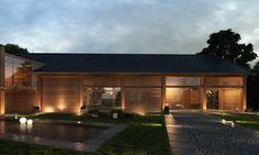 Auch wenn Ihr Gartenhaus nicht ganz so luxuriös sein sollte: Indirekte Beleuchtung verleiht ihm auf jeden Fall einen exklusiven Touch.