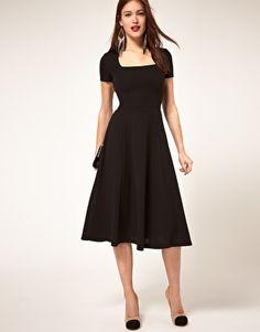 Khaki Plain Elegant Folds A-line Midi Dress - UX/UI Designer ...