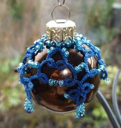De Handwerktuin: Laatste kerstballetjes