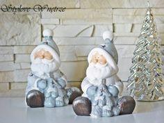 Świąteczny Lampion Święty Mikołaj