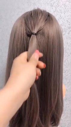 Medium Hair Styles, Curly Hair Styles, Hair Tutorials For Medium Hair, Hair Up Styles Wedding, Easy Hair Tutorials, Hair Tutorial Videos, Easy Hairstyles For Long Hair, Office Hairstyles, Weave Hairstyles
