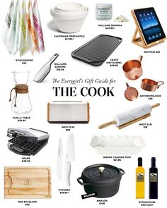 The Everygirl's 2014 Holiday Gift Guide for The Cook #theeverygirl