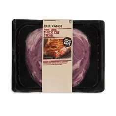 Free Range Mature Thick Cut Beef Rib Eye Steak Avg 600g