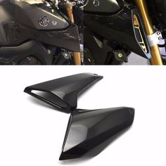 98.98$  Watch now - http://aliil4.worldwells.pw/go.php?t=32767912564 - MT 09 FZ 09 100% Real Carbon Fiber Upper Side Mid Panel Cowl For YAMAHA MT-09 FZ-09 MT09 FZ09 2014 2015 2016 MT FZ 09 Brand New
