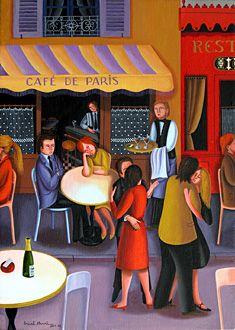 Paris Cafe ( Henri Bruel / France )