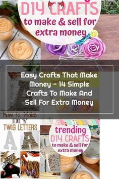 14+ Easy DIY Crafts To Sell That Are Cheap To Make & Creative. These awesome project ideas can be sold on Etsy and at craft fairs and craft markets. Try these unique crafts that make money today and make extra money from home!<br> Crafts To Make And Sell, Sell Diy, How To Make Diy, Diy Home Crafts, Easy Diy Crafts, Creative Crafts, Diy Happy Mother's Day, Lunch On A Budget, Cricut Print And Cut