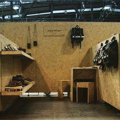 Kjøre Project's Booth at Arena Berlin today until 5 pm!!  #kjore #kjoreproject #premium #newzealand #natural #tanned #oil #evolution #leather #survey #evolution #backpack #design #seek #berlin @kjoreproject