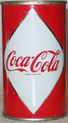 Coca-Cola can, 1955.