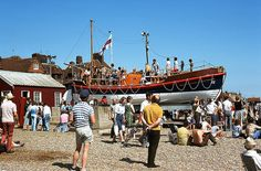 Aldeburgh Lifeboat (1975) by textlad, via Flickr