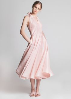 The Cannes Dress Powder Pink | Lilli Jahilo