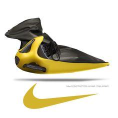 SAFA ŞAHİN sneaker with Nike construction.