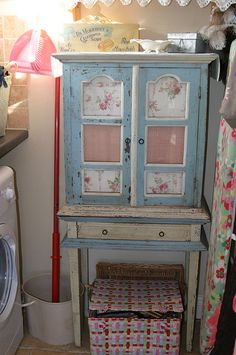 new use for old cabinet.