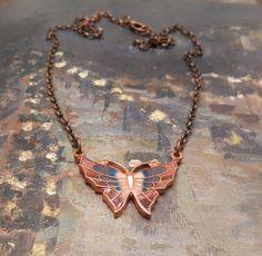 Colar Papillon