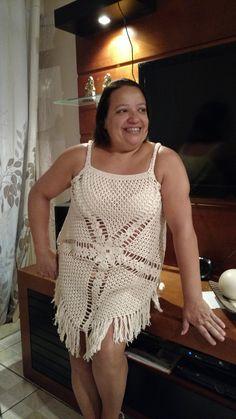 Blusa crochetada em fio de algodão. Usei fio Bella da Pingouim. Fotos do passo a passo neste site: http://perolasdocrochet.blogspot.com.br/2015/11/blusa-em-crochet-modelo-gypsy-com-pap.html