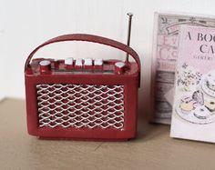 Dolls House Miniatur Vintage Radio