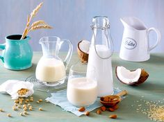Vegan backen - milchprodukte-ersetzen