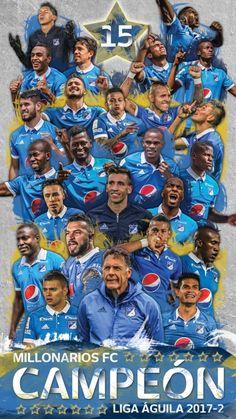 Actual campeón de Colombia! 15 estrellas