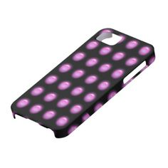 Purple Leds on Black iPhone 5 Cover for You at www.zazzle.com/superdumb