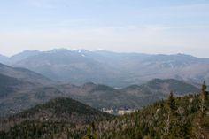 Vue du Mont Hurricane, Adirondacks, New-York, avril Avril 2017, Fire, Mountains, Nature, Travel, Smoke, Naturaleza, Viajes, Destinations