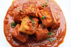 Kashmiri Paneer Masala – Paneer cooked in a fennel and ginger spiced tomato curry - Indian Vegetarian Food