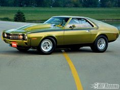 AMX by AMC (American Motors Corp.)..Re-pin...Brought to you by #CarInsurance at #HouseofInsurance in #Eugene, Oregon