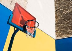 Pigalle Duperre and Ill Studio Paris Basketball Court Multi-coloured Installation Xavier Basketball, New York Basketball, Indoor Basketball Court, Street Basketball, Basketball Tickets, Basketball Uniforms, Basketball Shooting Drills, Basketball Workouts, Basketball Tips