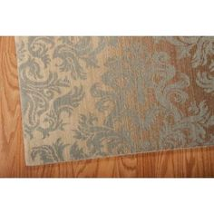 Nourison Riviera Mocha/Beige 9 ft. 6 in. x 13 ft. Area Rug-061911 - The Home Depot; 9x6 by 13; $2,000