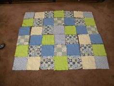 Another quilt made for a needy family.