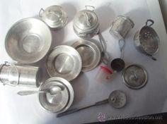 Lote de juguetes de aluminio de los años 70