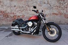 Harley-Davidson Blackline 2011