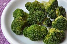 Broccoli a vapore al microonde
