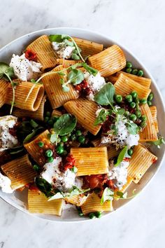 Pasta with burrata and Calabrian chili #foodie #recipes