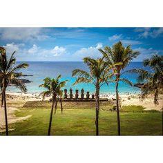 No hay nada como descansar en la tranquilidad de nuestra paradisíaca Rapa Nui.
