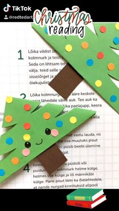 Christmas Bookmark corner - Red Ted Art Red Ted Art has a bookmark for every occasion! Recycled Christmas Decorations, Easy Christmas Crafts, Christmas Games, Christmas Books, Simple Christmas, Bookmark Craft, Corner Bookmarks, Bookmarks Kids, Christmas Wonderland
