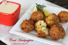 Crab Hushpuppies - Melissa's Southern Style Kitchen