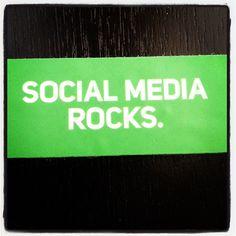 Social Media Rocks #socialmedia #awesome