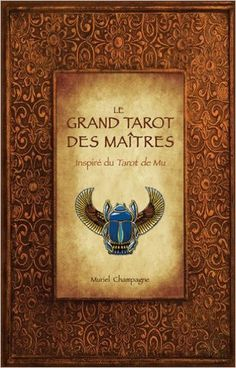 Amazon.fr - Grand Tarot des Maîtres - Inspiré du Tarot de MU - Coffret - Muriel Champagne - Livres