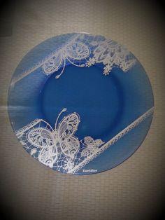 Pratos azuis