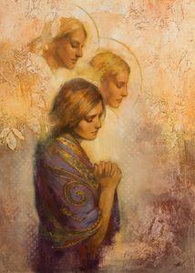 Angels Among Us 5x7 print