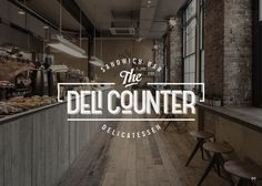 logo for The Deli Counter