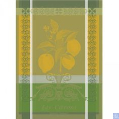 Garnier Thiebaut Citrons Towel