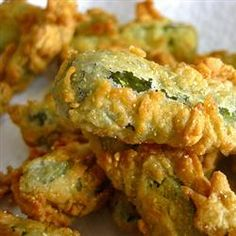 """Deep Fried Dill Pickles   """"We made these for our Super Bowl party and they were the hit of the party! Great, great flavor."""""""