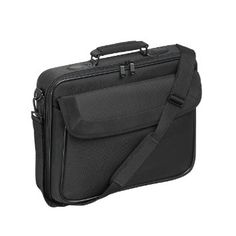 Targus Classic Clamshell Premium Protective Laptop Bag with Handles specifically designed to fit up to Black