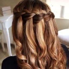 """7,652 Likes, 112 Comments - Imagestudios (@worthyofwomen.videos) on Instagram: """"Adorable waterfall braid! Perfect for summer!! ☀️ thanks @sweethearts_hair_design #waterfallbraid…"""" #BraidedHairstyles"""