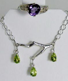 Lavender & Lime Family Necklace, Lavender, Lime, Pendant Necklace, Bracelets, Jewelry, Limes, Jewlery, Jewerly