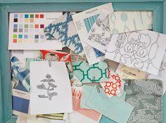 Fine Lines - Birmingham Home & Garden - March/April 2013 - Birmingham // Cotton + Quill Inspiration Board