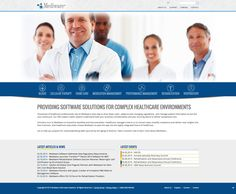 Web Design, UX, UI, Medical Web Design, Corporate Web Design, Mediware