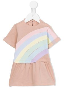 Stella Mccartney Kids rainbow print Jess dress