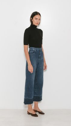 Rachel Comey Legion Pant in Indigo Wash | The Dreslyn