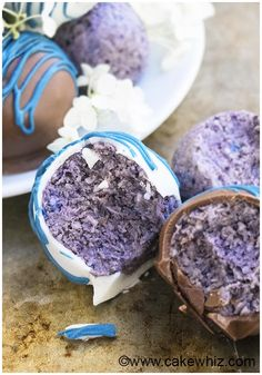 healthy chocolate blueberry truffles recipe 2